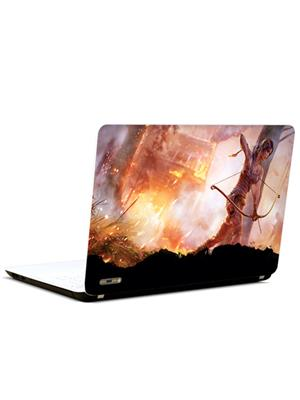 Pics And You SH184 Fighter Girl 3M/Avery Vinyl Laptop Skin Decal