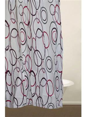 SKAP SK01 White Shower Curtains