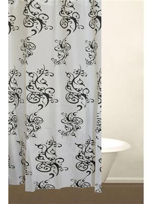 SKAP SK05 White Shower Curtains