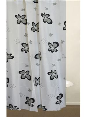 SKAP SK06 White Shower Curtains