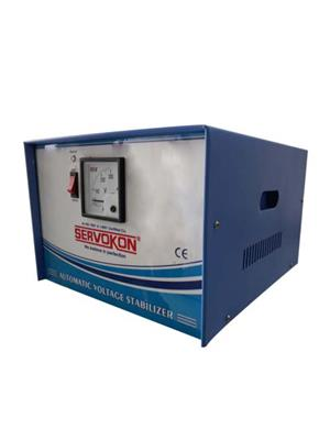 SERVOKON SK750-90 Blue 7.5 Kva 90V Automatic Voltage Stabilizer