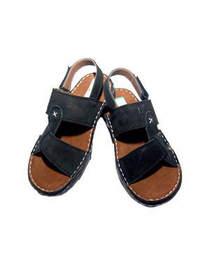 Parlan SKE101Blk BLACK Mens Sandals