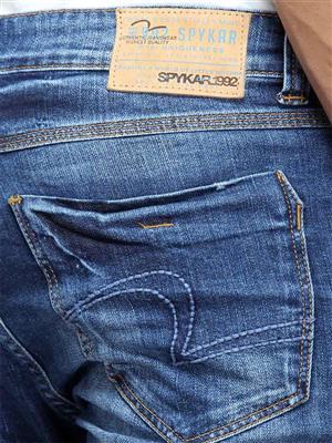 Spykar SKN-S15-06 Blue Slim Fit Men Jeans