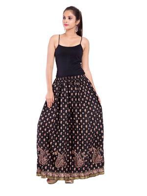 Decot SKT3002 Black Women Skirt
