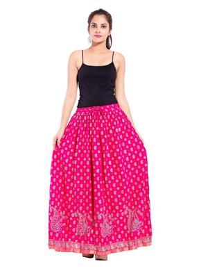 Decot SKT3003 Pink Women Skirt