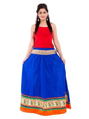 Decot SKT3007 Blue Women Skirt