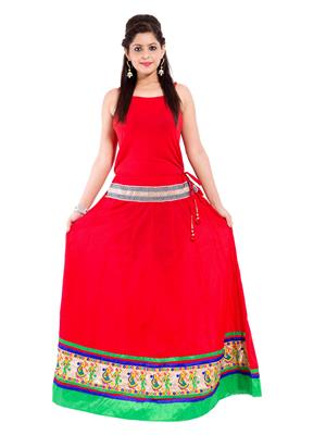 Decot SKT3009 Red Women Skirt