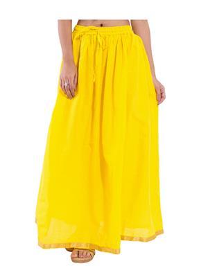 Decot SKT306 Yellow Women Skirt
