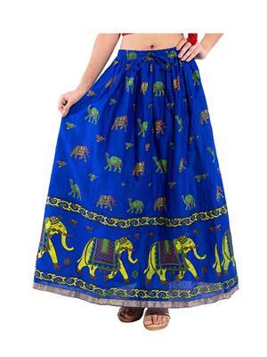 Decot SKT321 Blue Women Skirt