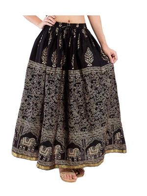 Decot SKT330 Black Women Skirt