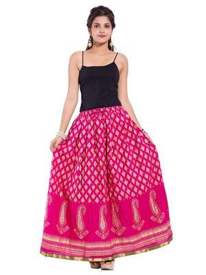 Decot SKT337 Pink Women Skirt