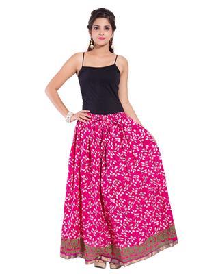 Decot SKT342 Pink Women Skirt