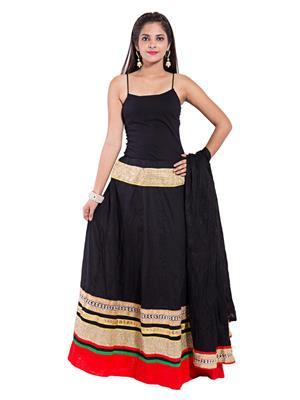 Decot SKT343 Black Women Skirt