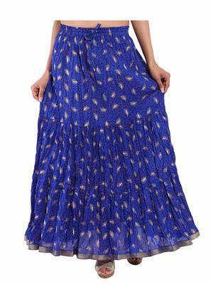 Decot SKT354 Blue  Women Skirt