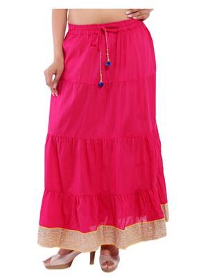 Decot SKT361 Pink Women Skirt