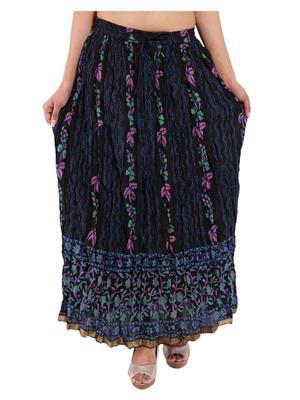 Decot SKT371 Black Women Skirt