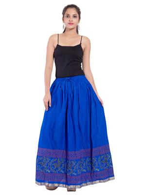 Decot SKT393 Blue Women Skirt