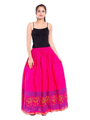 Decot SKT394 Pink Women Skirt