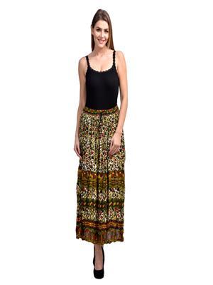 Lauriel SKT9011-Mah Multicolored Women Skirt