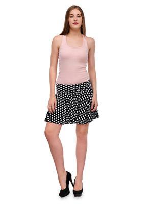 Lauriel SKT9021-Blk Black Women Skirt