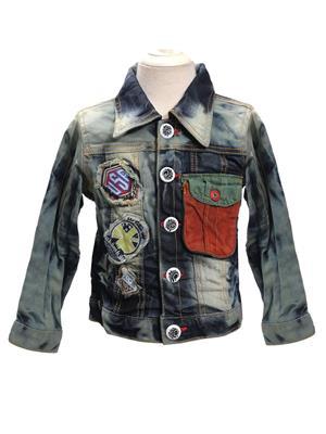 Sheena SKW0120 Blue Kids Jacket