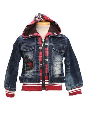 Sheena SKW0121 Blue Kids Jacket