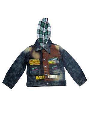 Sheena SKW0122 Blue Kids Jacket