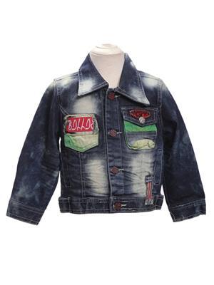 Sheena SKW0124 Blue Kids Jacket