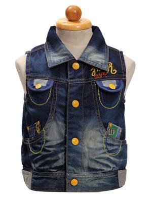Sheena SKW0128 Blue Kids Jacket