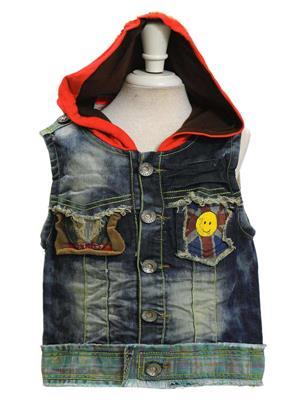 Sheena SKW0129 Blue Kids Jacket