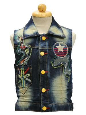 Sheena SKW0130 Blue Kids Jacket