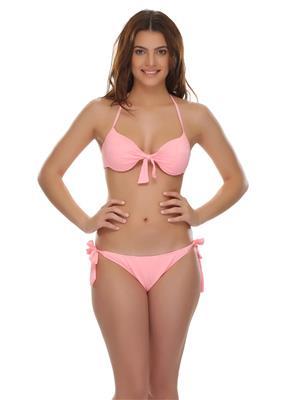 Clovia SM0003P16 Orange Women Beach & Swimwear