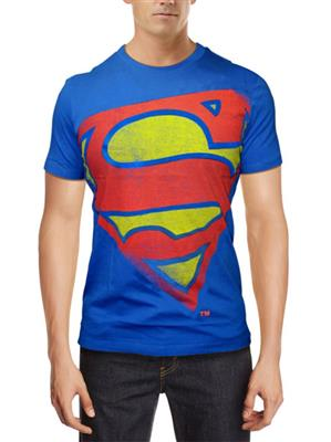 Superman SP1CMT852 Mens T-Shirt