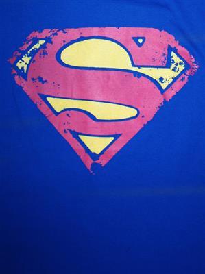 Superman SP1CMT456 Mens T-Shirt