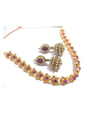 Shree Mauli Creation SMC055 Multicolored Women Necklace set
