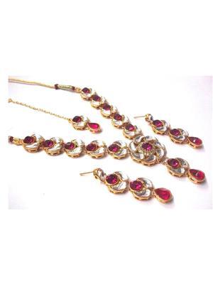 Shree Mauli Creation SMC058 Multicolored Women Necklace set