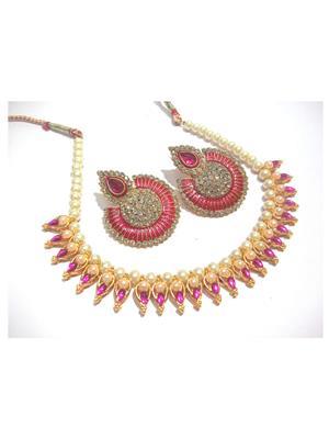 Shree Mauli Creation SMC077 Multicolored Women Necklace set