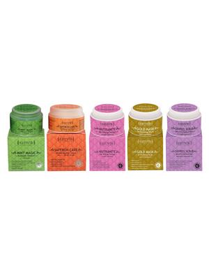 Sattvik Organics SOC51 Unisex Skin Care Regime Combo