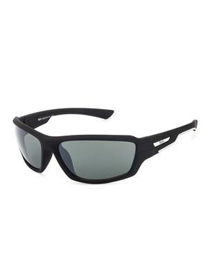 Rafa SPT2009BLKGRY Black Unisex Wrap Sunglasses