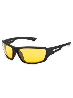 Rafa SPT2009BLYEL Black Unisex Wrap Sunglasses
