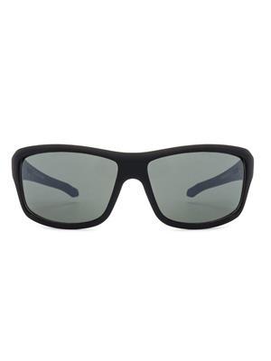 Rafa SPT332BLKGRN4 Black Unisex Wrap Sunglasses