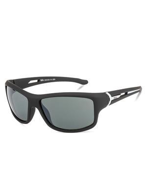 Rafa SPT332BLKGRY Black Unisex Wrap Sunglasses