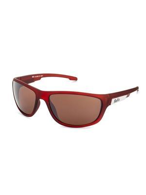 Rafa SPT5012BRN Brown Unisex Wrap Sunglasses