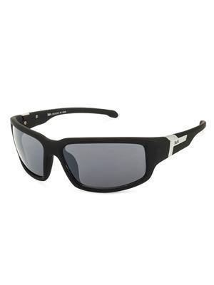 Rafa SPT572BLKGRY Black Unisex Wrap Sunglasses