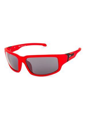Rafa SPT572REDGRY Red Unisex Wrap Sunglasses