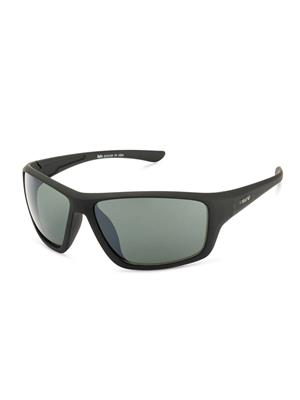 Rafa SPT8412BLKGRN Black Unisex Wrap Sunglasses