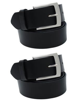 Srs 101-32-Black Men Belt Set Of 2