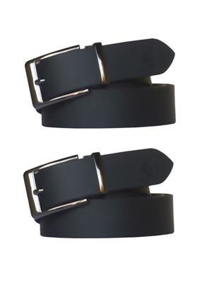 Srs 801-32-Black Men Belt Set Of 2