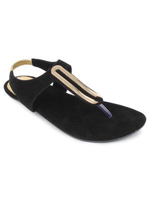 Srs-R-4-Black Women Sandal