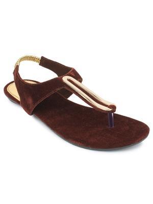 Srs-R-4-Brown Women Sandal